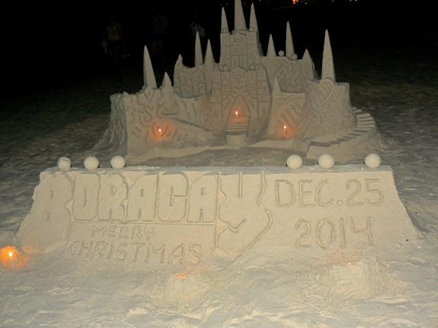 cool sand castle